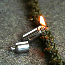 Mini Refillable Kerosene Cigarette Lighter Camping Survival Keyring Remarkable