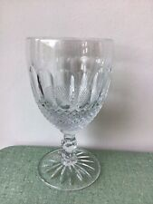 Large Vintage Waterford Crystal Colleen Essence Glass Goblet