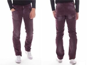 PRIMO EMPORIO PE16 Mens Slim Leg Jeans Straight Ripped Scratched Faded R L  £85