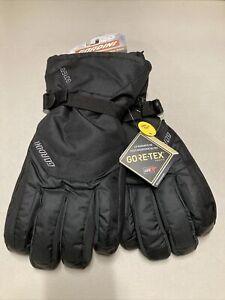 Gordini Gore-Tex Gauntlet Gloves Mens XL Black