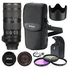 Nikon AF-S NIKKOR 70-200mm f/2.8E FL ED VR Lens + Accessory Kit