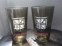 Zelda Nintendo 16 Oz Pint Glass Offical Controller Gear Amber Glasses Legend Of
