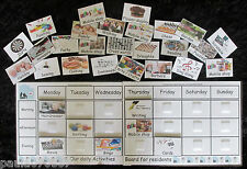 More details for deluxe activities board. autism~elderly settings~nursing home~ 32 activity cards