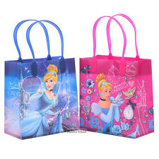 Disney Cinderella Authentic Licensed Reusable Small Party Favor Goodie 12 Bags