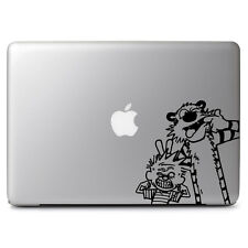 Cute Funny Calvin & Hobbes Decal Sticker for Macbook Air/Pro Dell HP Laptop Deco