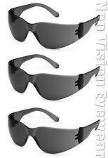 3 Pack/Pair Gateway Starlite Smoke Safety Glasses Sun Z87+ Csa Z94.4