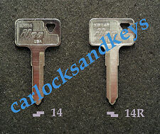 New Aftermarket 1987-2014 Kawasaki KLR 650 KLR650 Motorcycle Key Blank