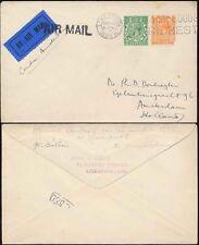 GB 1925 AIRMAIL to HOLLAND...LIVERPOOL SLOGAN MACHINE CANCEL