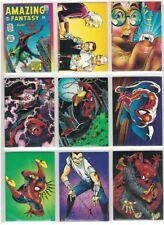 SPIDER-MAN 30th ANNIVERSARY COMIC IMAGES COMPLETE 90 CARD SET MARVEL SERIES II