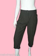 MORGAN Pantalon noir habillé 7/8 taille 36 S neuf