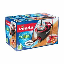 Vileda Turbo Smart Mop and Bucket Easy Power Spin & Wring Mop and Bucket Set