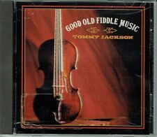 Rare Tommy Jackson Good Old Fiddle Music CD OOP