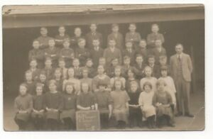 England, Staffordshire, Brierley Hill ? Mt. Pleasant C School, Class Photo 1926.