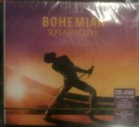 BOHEMIAN RHAPSODY - QUEEN RARE EDITION  CD + DVD (movie) !