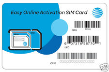 AT&T Easy Online Activation SIM Kit (for New & Existing Monthly Plans)