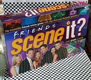 FRIENDS SCENE IT? DVD BOARD GAME FAMILY XMAS GAMES 2005 MATTEL