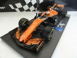 VERY RARE 1/18 f1 Minichamps McLaren Honda MCL32 Alonso 2017 Chinese  gp
