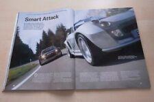 Sport Auto 3688) Smart Roadster Coupe von Brabus mit 101PS besser als...?