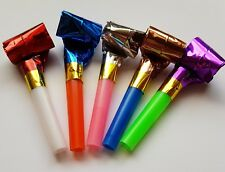 10 Foil Party Blowers Loot Bag Filler Birthday Christmas New Year Party