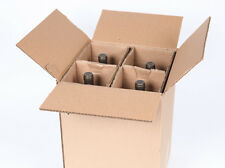 4 Bottle Magnum 1.5L Wine Shipping Box SpiritedShipper.com UPS & FedEx Approved