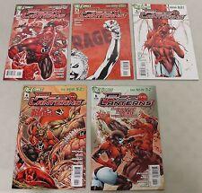 DC: Red Lanterns (2011) #1-5 COMPLETE RUN