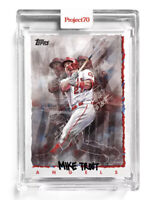 Topps Project 70 Card 64 - 1995 Mike Trout by Chuck Styles In Hand