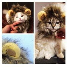 Pet Clothes Halloween Costume For Dog Cat Pet Wig Lion Mane Hair Clothes Party