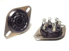x1 6-Pin AMPHENOL USA NOS Phenolic Tube Socket 78-RS6 & Hardware fit 6C6 1603 42