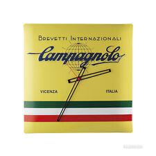 Campagnolo Bicycle Cycle Bike Brevetti Internazionali Wall Clock Yellow