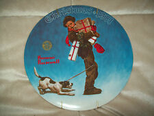 1981 Norman Rockwell Christmas Plate