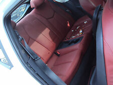 2012 HYUNDAI VELOSTER RED LEATHER REAR SEATS  G4FD 37K 1.6 GDI (CS)
