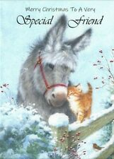 Merry Christmas to a Very Special Friend A5 Card Friendship Best Friend Love