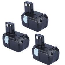 3X Battery For Hitachi EBM1830 327730 BCL1815 DH18DL DS18DL DV18DL 18V 5000mAh