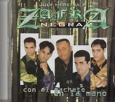 Zafra Negra Con El Machete En La Mano CD New Sealed