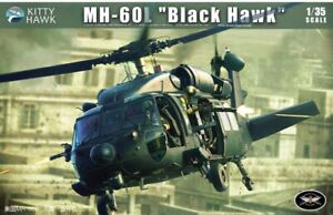 "Kitty Hawk 1/35 Sikorsky MH-60L "" Noir Hawk "" #50005"