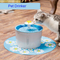 1.6L Pet Dog Cat Water Automatic Feeder Fountain Drinking Dispenser Fountain