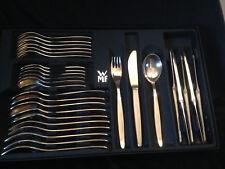 WMF Stockholm Patent 90 Silber 6 Personen 45 Teile, Besteck + Zusatzteile