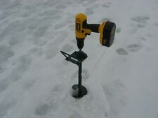 ice kicker 1 with handle auger adapter