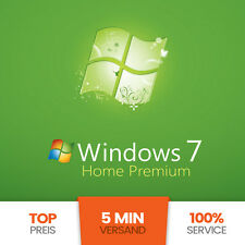 Microsoft Windows 7 Home Premium OEM 32/64 Bit Win Pro Original Key GENUINE