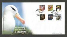 SOUTH GEORGIA & S,S/ISLES 2015 BIODIVERSITY FDC LOT 2834B