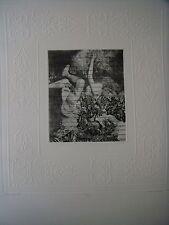 Albin Brunovsky,rare big size free etching 32/65
