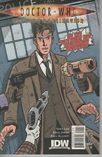 Doctor Who #1 The Time Machination 10th Doctor comic book Torchwood TV show