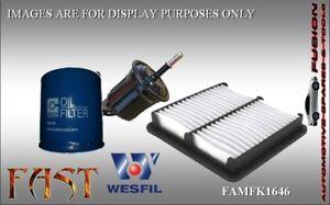 Oil Fuel Air Filter Service Kit for FORD LASER 1.8L 1990-1994