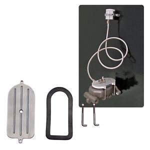 Ford Muscle Car Master Cylinder Remote Fill Reservoir Cap/ Brake Hose Kit Hotrod