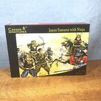 Caesar Miniatures History 003 Kit Japan Samurai With Ninja BRAND NEW 1/72