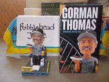Nib 2017 Gorman Thomas Lakeshore Chinooks Tailgating Brewers Bobblehead Sga 6/24