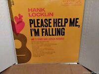 "Hank Locklin, ""Please Help Me I'am Fallin"" RCA, LPM 229, 1960 Vinyl, Lp, Album,"