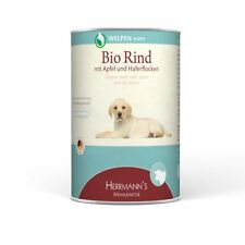 Herrmanns  Welpe Bio-Rind   12x 400g Hundefutter nass