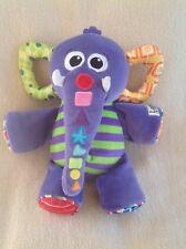 Lamaze Eddie Elephant Musical Trunk Activity Toy Comforter  - Musical/Sounds!!!