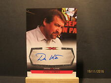 2008 TriStar TNA Cross The Line Autographs #CDW Don West Shop At Home Ripoff Guy
